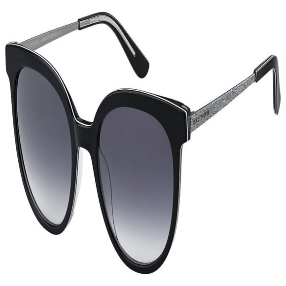 Juicy Couture Oval Women Black Acetate Frame